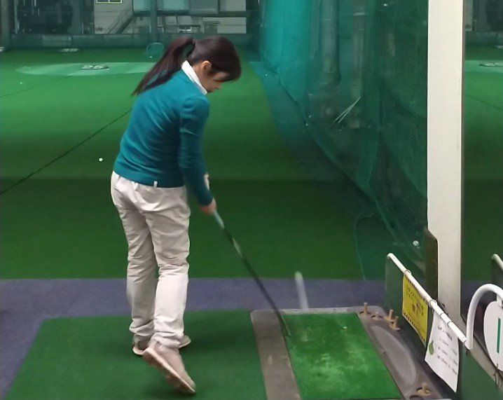 Golf swing as of 20210120