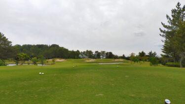 【ホームコースでゴルフ】6月月例競技のスコア記録 パターが芯に当たらない